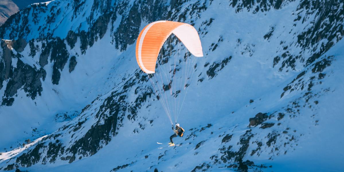 Parapente à ski : une activité à tester !