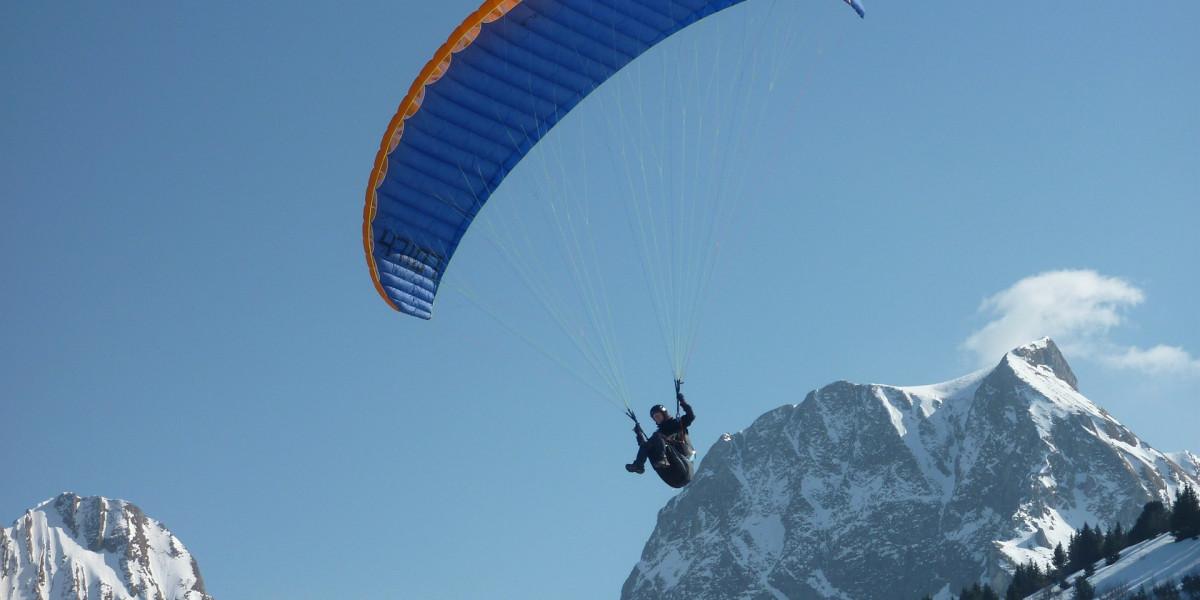 Méribel: la station de ski idéale pour faire du parapente!